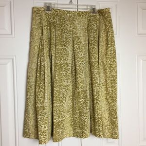 Pleated Skirt   Pockets   Size 16